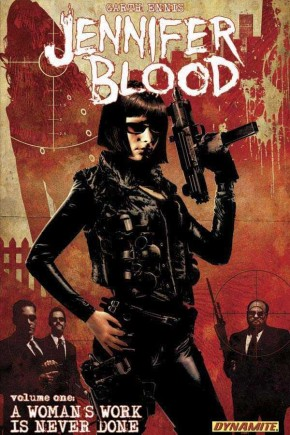 JENNIFER BLOOD VOLUME 1 A WOMANS WORK IS NEVER DONE GRAPHIC NOVEL