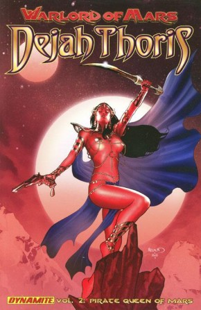 WARLORD OF MARS DEJAH THORIS VOLUME 2 THE PIRATE QUEEN OF MARS GRAPHIC NOVEL