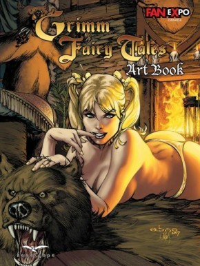 GRIMM FAIRY TALES COVER ART BOOK VOLUME 1 HARDCOVER (Fan Expo Canada)