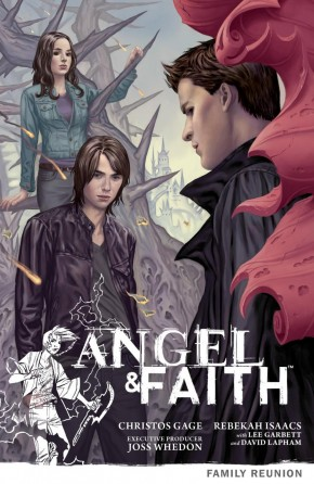 ANGEL AND FAITH SEASON 9 VOLUME 3 FAMILY REUNION GRAPHIC NOVEL