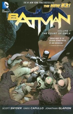 BATMAN VOLUME 1 THE COURT OF OWLS GRAPHIC NOVEL