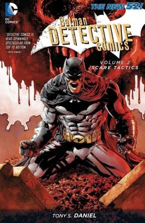 BATMAN DETECTIVE COMICS VOLUME 2 SCARE TACTICS HARDCOVER