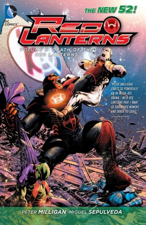 RED LANTERNS VOLUME 2 THE DEATH OF THE RED LANTERNS GRAPHIC NOVEL