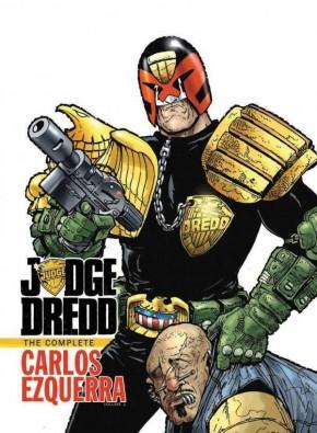 JUDGE DREDD COMPLETE CARLOS EZQUERRA VOLUME 1 HARDCOVER