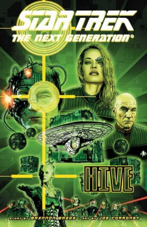 STAR TREK THE NEXT GENERATION HIVE GRAPHIC NOVEL