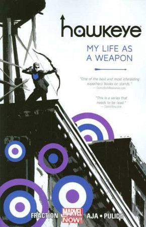 HAWKEYE VOLUME 1 MY LIFE AS A WEAPON GRAPHIC NOVEL