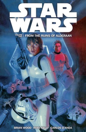 STAR WARS VOLUME 2 FROM THE RUINS OF ALDERAAN GRAPHIC NOVEL