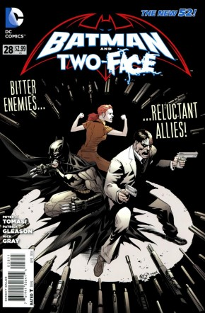 BATMAN AND TWO-FACE #28 (2011 SERIES)