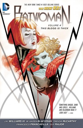 BATWOMAN VOLUME 4 THIS BLOOD IS THICK HARDCOVER