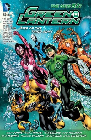 GREEN LANTERN RISE OF THE THIRD ARMY HARDCOVER