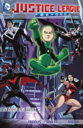 JUSTICE LEAGUE BEYOND IN GODS WE TRUST GRAPHIC NOVEL