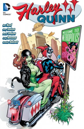HARLEY QUINN WELCOME TO METROPOLIS GRAPHIC NOVEL