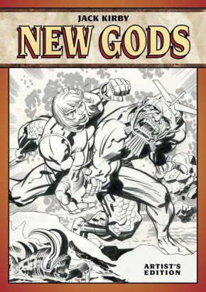 JACK KIRBY NEW GODS ARTIST EDITION HARDCOVER