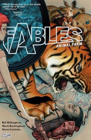 FABLES VOLUME 2 ANIMAL FARM GRAPHIC NOVEL