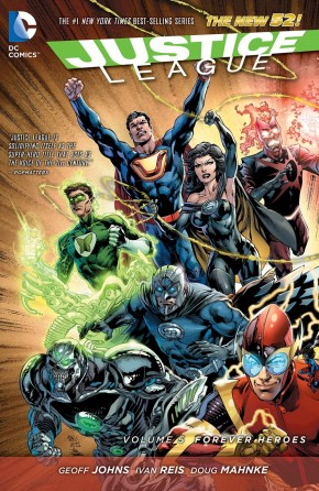 JUSTICE LEAGUE VOLUME 5 FOREVER HEROES GRAPHIC NOVEL