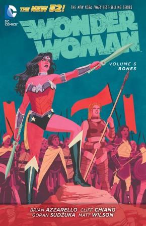WONDER WOMAN VOLUME 6 BONES HARDCOVER