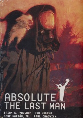 ABSOLUTE Y THE LAST MAN VOLUME 1 HARDCOVER