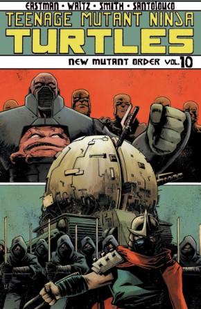 TEENAGE MUTANT NINJA TURTLES VOLUME 10 NEW MUTANT ORDER GRAPHIC NOVEL