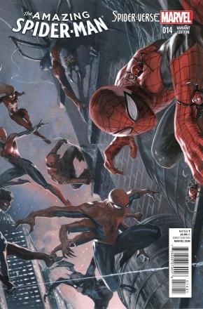 AMAZING SPIDER-MAN #14 (2014 SERIES) DELLOTTO 1 IN 25 INCENTIVE