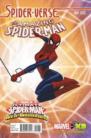 AMAZING SPIDER-MAN #14 (2014 SERIES) WAMESTER 1 IN 10 INCENTIVE
