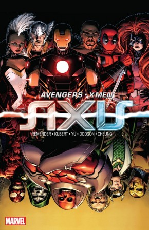 AVENGERS AND X-MEN AXIS HARDCOVER