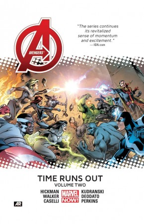 AVENGERS TIME RUNS OUT VOLUME 2 HARDCOVER