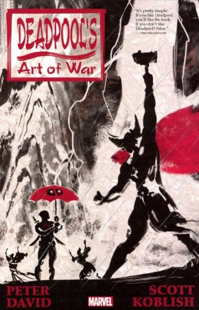 DEADPOOLS ART OF WAR GRAPHIC NOVEL