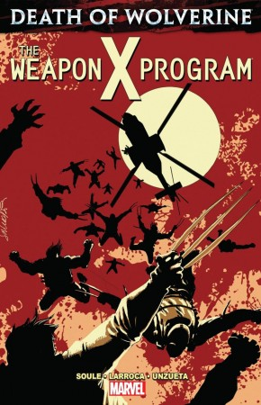 DEATH OF WOLVERINE WEAPON X PROGRAM GRAPHIC NOVEL