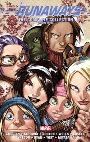 RUNAWAYS COMPLETE COLLECTION VOLUME 3 GRAPHIC NOVEL