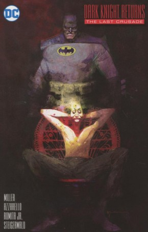 Dark Knight Returns The Last Crusade #1 (Sienkiewicz 1 in 25 Incentive Variant Cover)