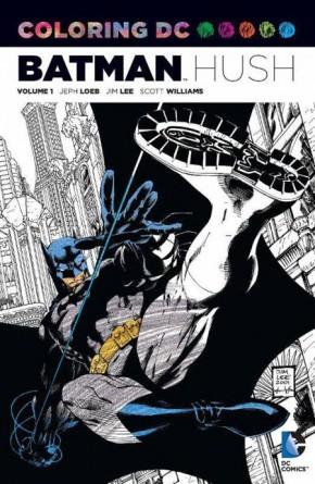 COLORING DC BATMAN HUSH VOLUME 1 GRAPHIC NOVEL