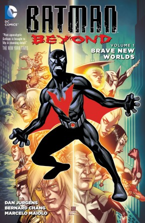 BATMAN BEYOND VOLUME 1 BRAVE NEW WORLDS GRAPHIC NOVEL
