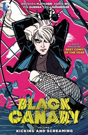 BLACK CANARY VOLUME 1 KICKING AND SCREAMING GRAPHIC NOVEL