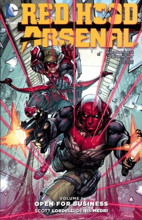 RED HOOD ARSENAL VOLUME 1 OPEN FOR BUSINESS GRAPHIC NOVEL
