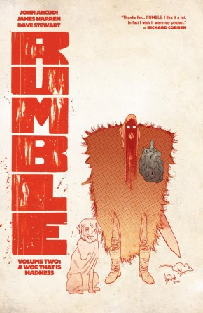 RUMBLE VOLUME 2 A WOE THAT IS MADNESS GRAPHIC NOVEL