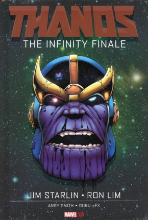 THANOS INFINITY FINALE HARDCOVER