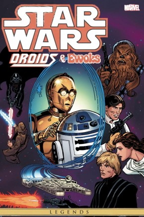 STAR WARS DROIDS AND EWOKS OMNIBUS HARDCOVER
