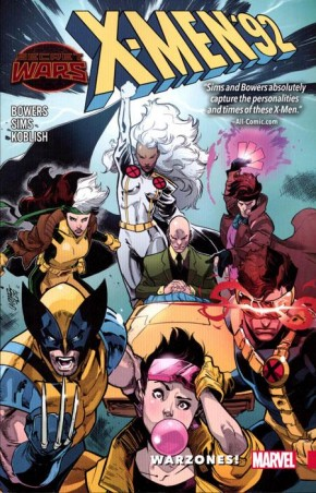 X-MEN 92 VOLUME 00 WARZONES GRAPHIC NOVEL
