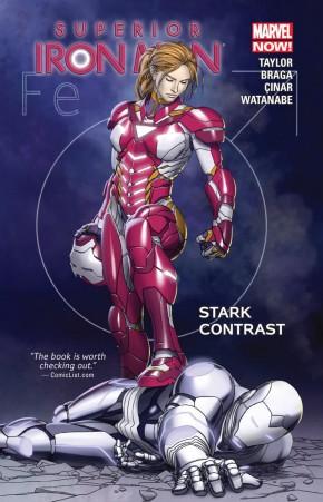 SUPERIOR IRON MAN VOLUME 2 STARK CONTRAST GRAPHIC NOVEL
