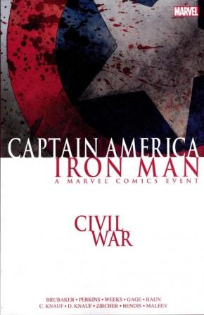 CIVIL WAR CAPTAIN AMERICA IRON MAN GRAPHIC NOVEL