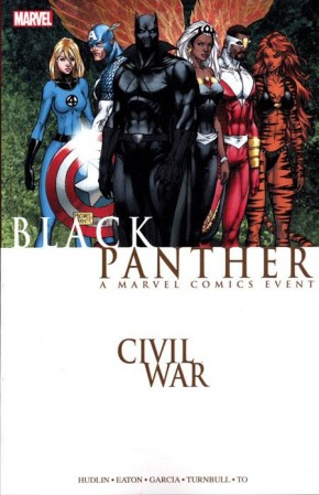 CIVIL WAR BLACK PANTHER GRAPHIC NOVEL