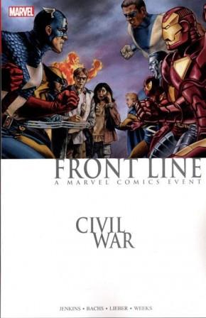 CIVIL WAR FRONT LINE GRAPHIC NOVEL