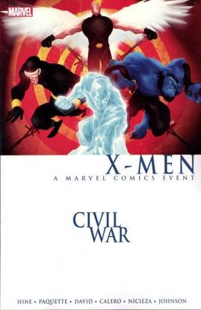 CIVIL WAR X-MEN GRAPHIC NOVEL