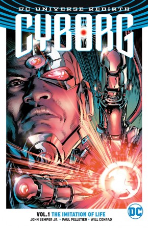 CYBORG VOLUME 1 THE IMITATION OF LIFE GRAPHIC NOVEL