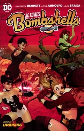 DC COMICS BOMBSHELLS VOLUME 3 UPRISING GRAPHIC NOVEL