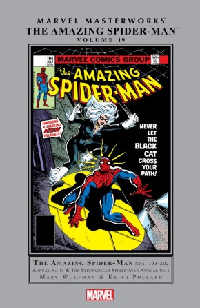 MARVEL MASTERWORKS AMAZING SPIDER-MAN VOLUME 19 HARDCOVER