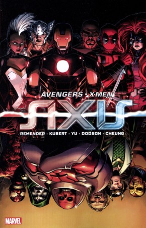 AVENGERS AND X-MEN AXIS GRAPHIC NOVEL