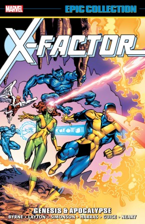 X-FACTOR EPIC COLLECTION GENESIS AND APOCALYPSE GRAPHIC NOVEL