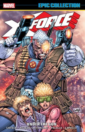 X-FORCE EPIC COLLECTION UNDER THE GUN GRAPHIC NOVEL