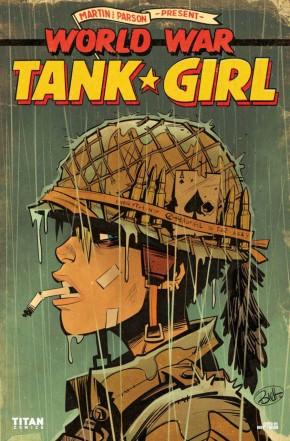 TANK GIRL WORLD WAR TANK GIRL #1